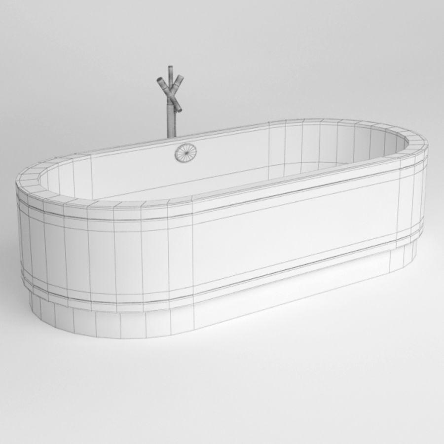 Une baignoire royalty-free 3d model - Preview no. 7