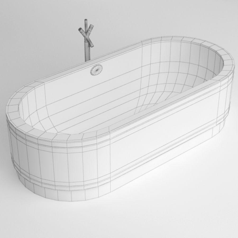 Une baignoire royalty-free 3d model - Preview no. 9