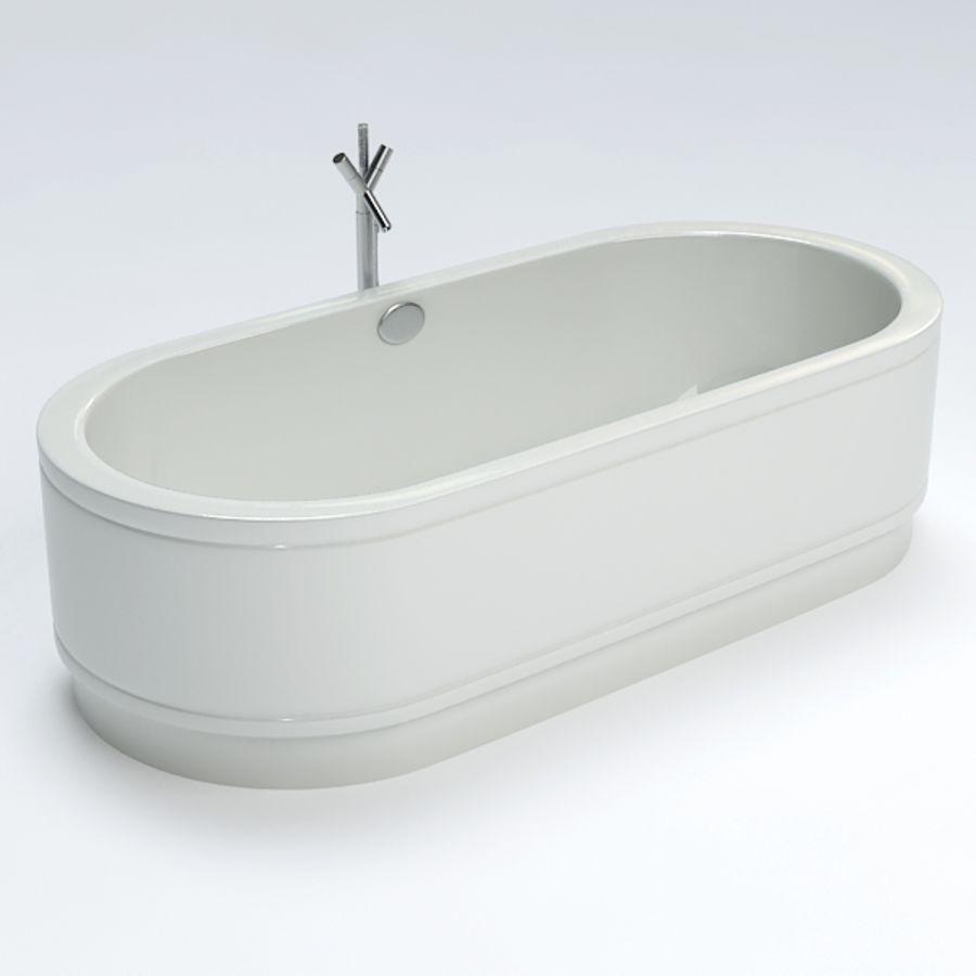 Une baignoire royalty-free 3d model - Preview no. 3