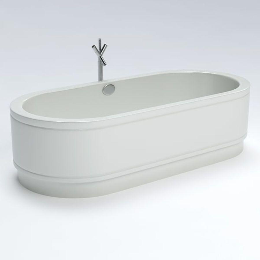 Une baignoire royalty-free 3d model - Preview no. 2