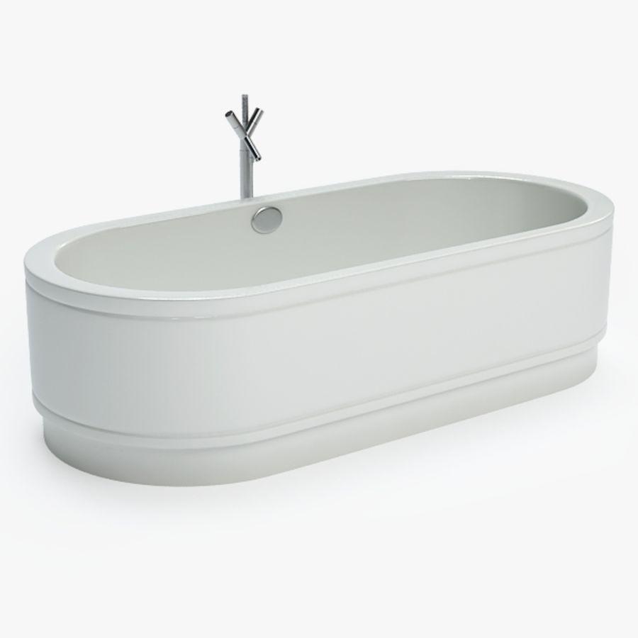 Une baignoire royalty-free 3d model - Preview no. 1