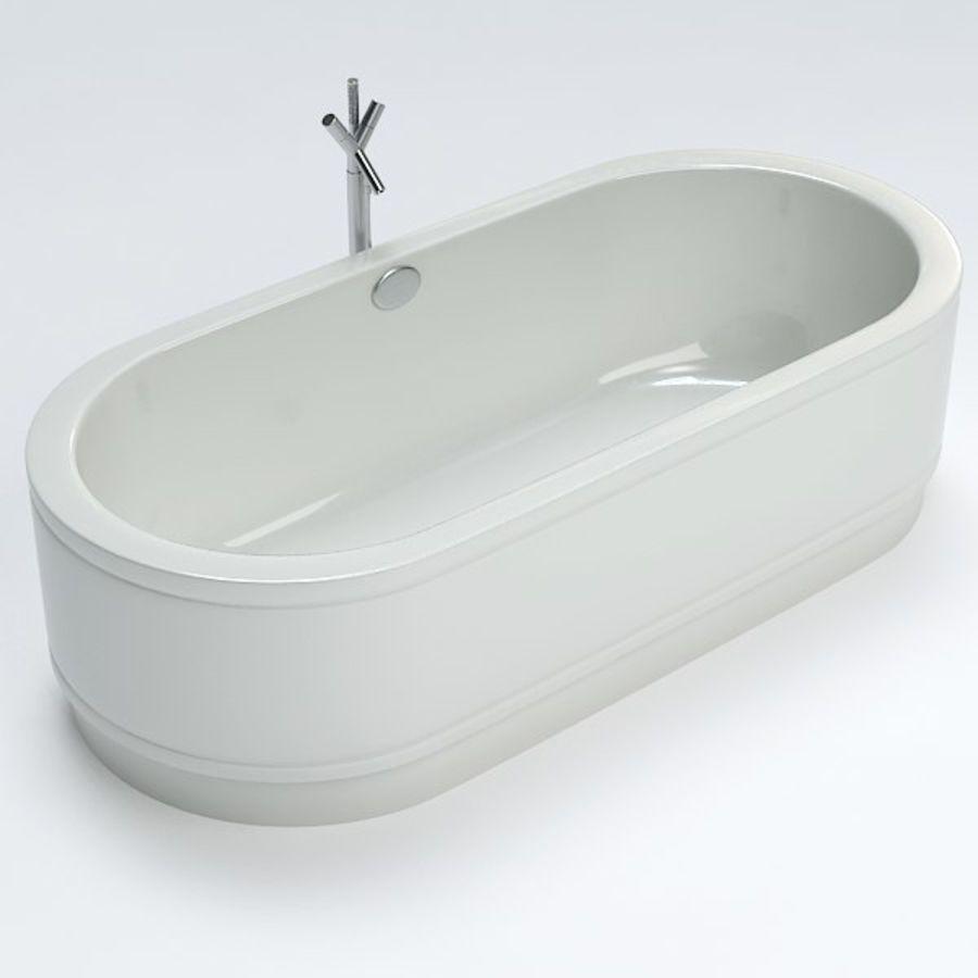 Une baignoire royalty-free 3d model - Preview no. 4