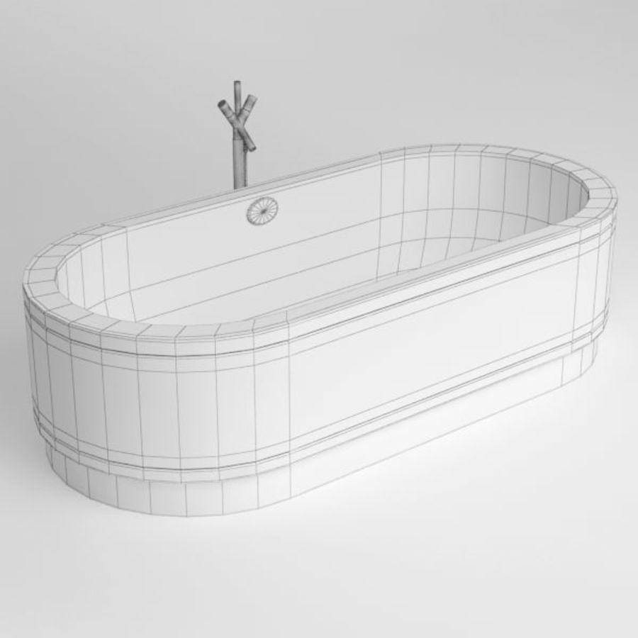 Une baignoire royalty-free 3d model - Preview no. 8