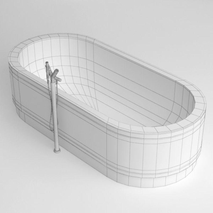 Une baignoire royalty-free 3d model - Preview no. 10