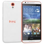 HTC Desire 820迷你白色 3d model