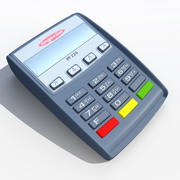 PIN Pad iPP 220 3d model