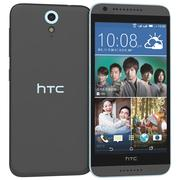 HTC Desire 620 Dual Sim Blue Misty 3d model
