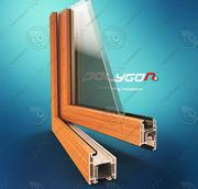 PVC Window Profile 3d model
