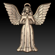 Christmas Angel 3d model