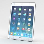 Apple iPad Mini 3 Silver/White 3d model