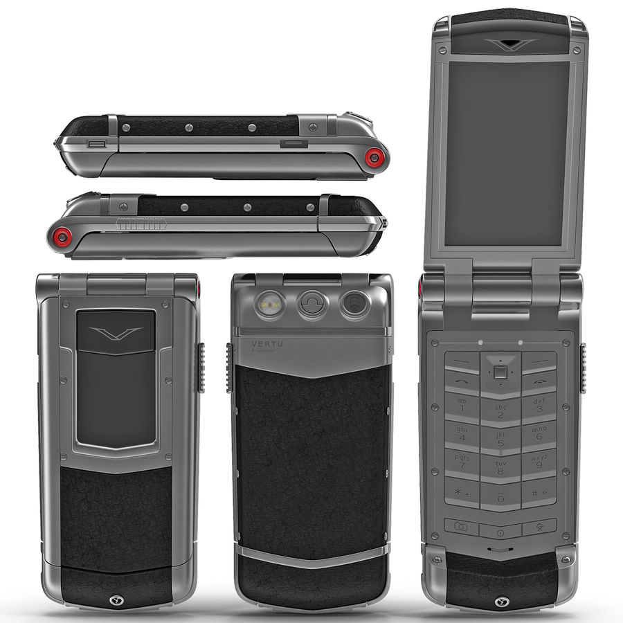 Vertu Constellation Ayxta royalty-free 3d model - Preview no. 2
