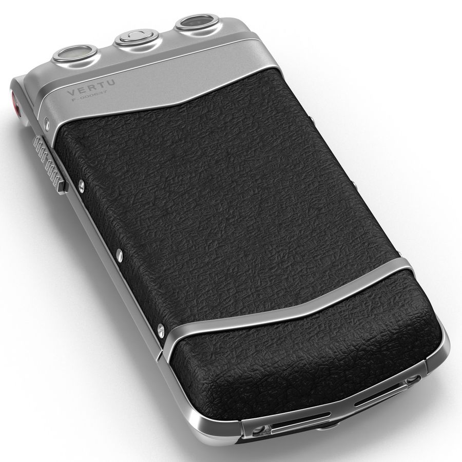 Vertu Constellation Ayxta royalty-free 3d model - Preview no. 17