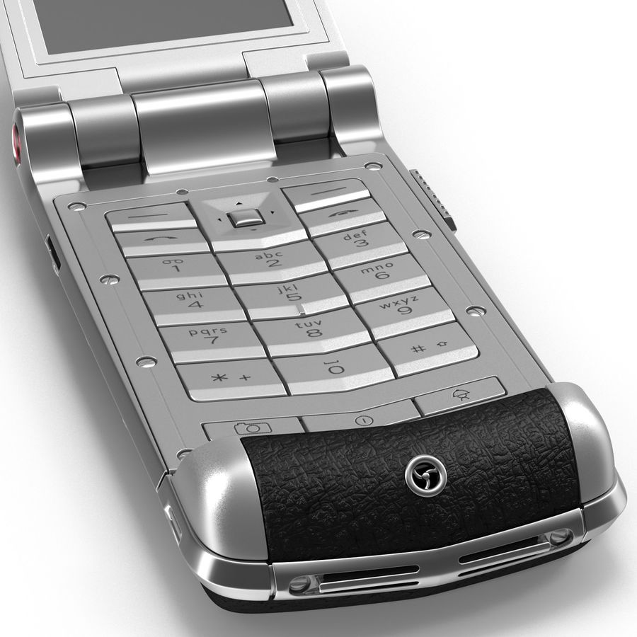 Vertu Constellation Ayxta royalty-free 3d model - Preview no. 9
