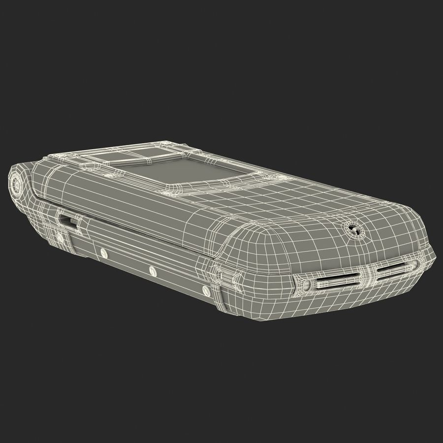 Vertu Constellation Ayxta royalty-free 3d model - Preview no. 32