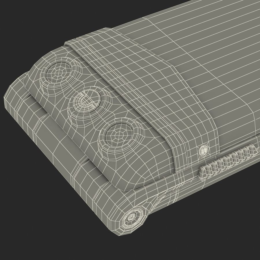Vertu Constellation Ayxta royalty-free 3d model - Preview no. 36