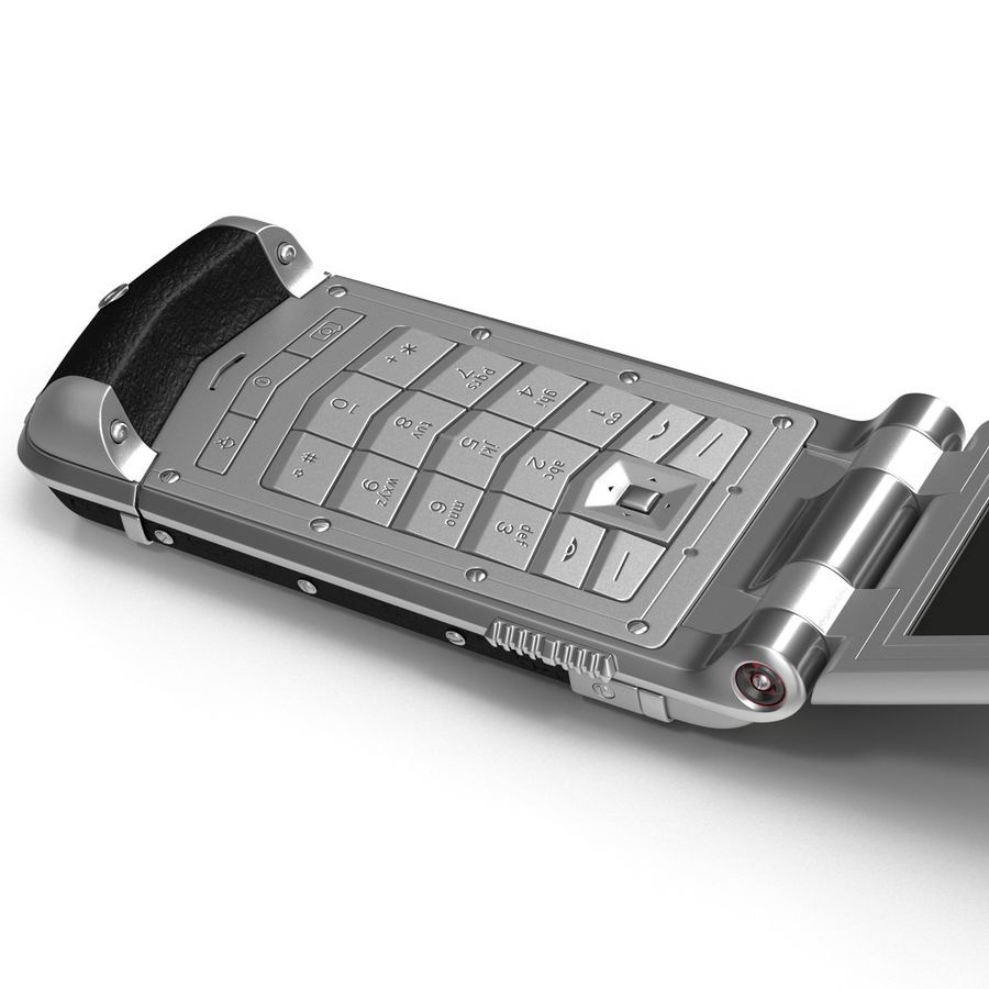 Vertu Constellation Ayxta royalty-free 3d model - Preview no. 10