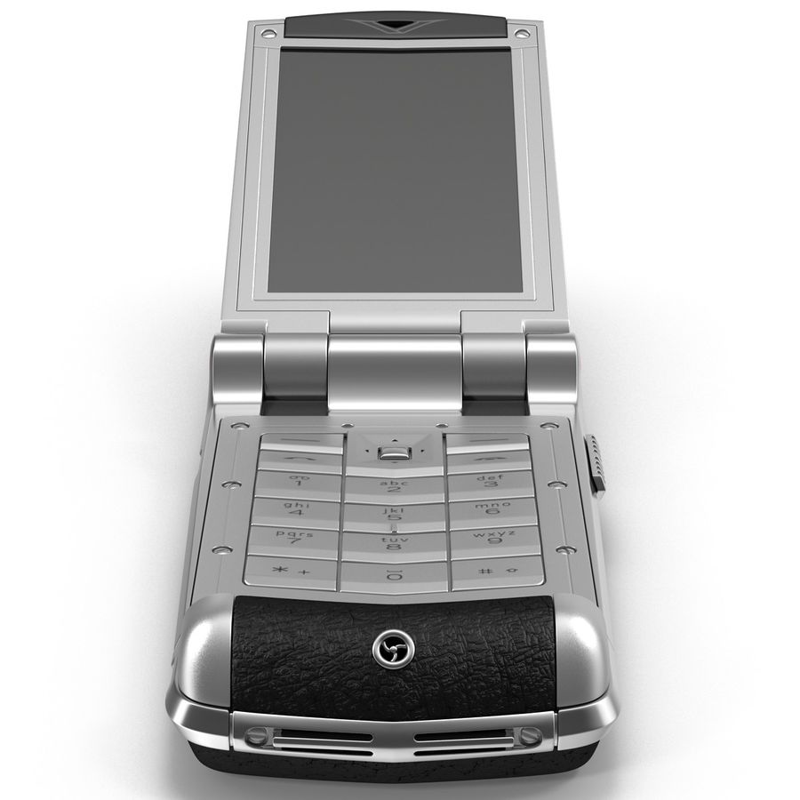 Vertu Constellation Ayxta royalty-free 3d model - Preview no. 7