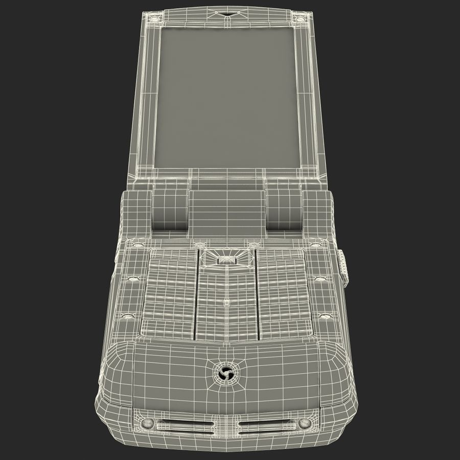 Vertu Constellation Ayxta royalty-free 3d model - Preview no. 28