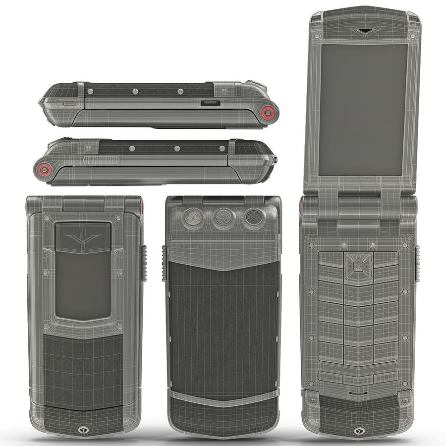 Vertu Constellation Ayxta royalty-free 3d model - Preview no. 22