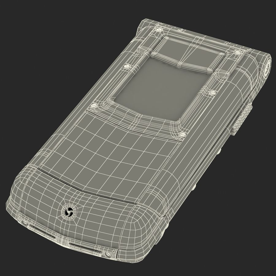 Vertu Constellation Ayxta royalty-free 3d model - Preview no. 31