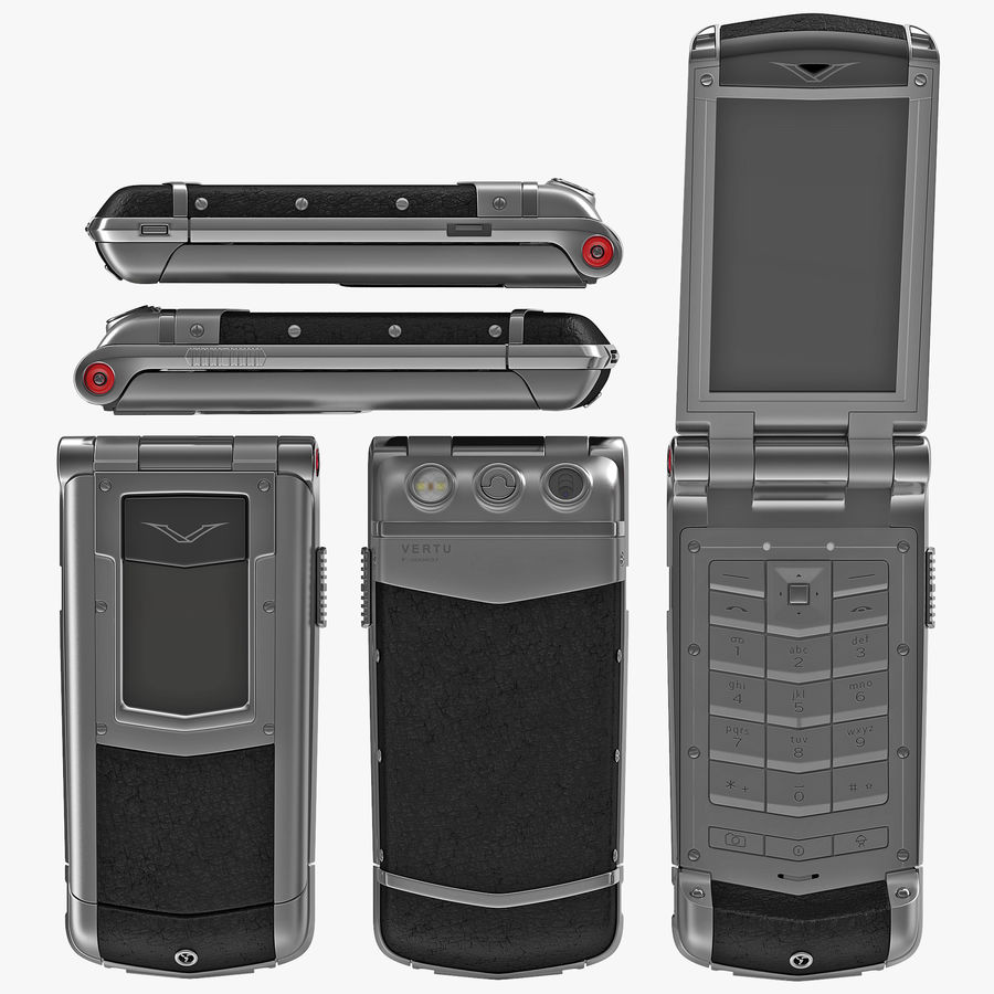Vertu Constellation Ayxta royalty-free 3d model - Preview no. 1