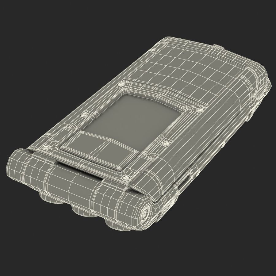 Vertu Constellation Ayxta royalty-free 3d model - Preview no. 33