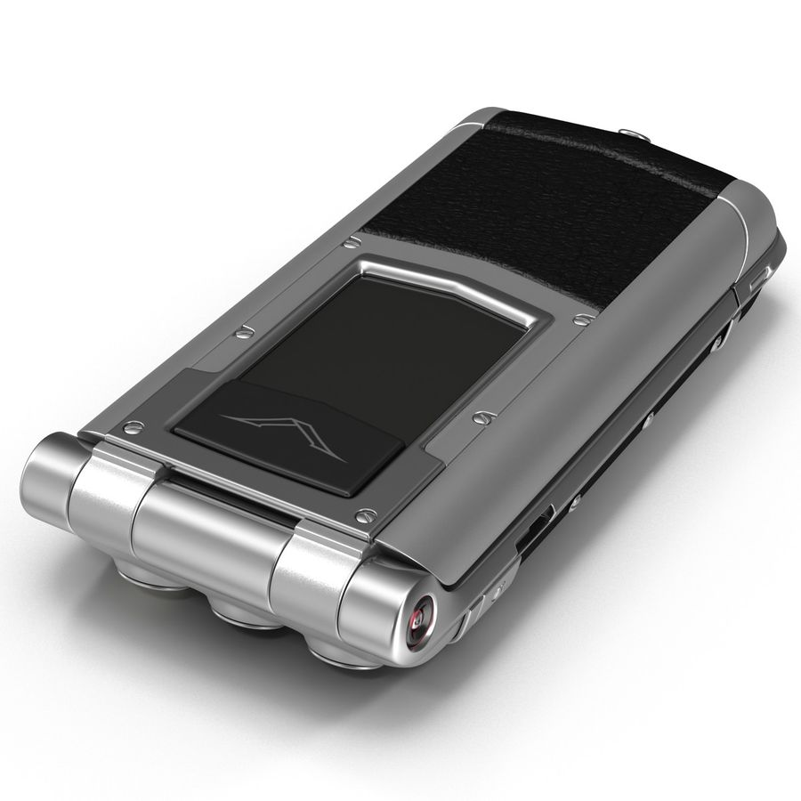 Vertu Constellation Ayxta royalty-free 3d model - Preview no. 14