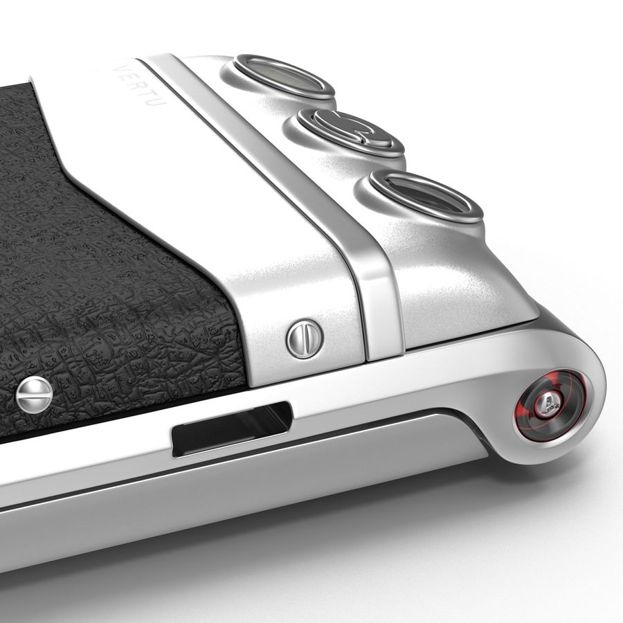 Vertu Constellation Ayxta royalty-free 3d model - Preview no. 21