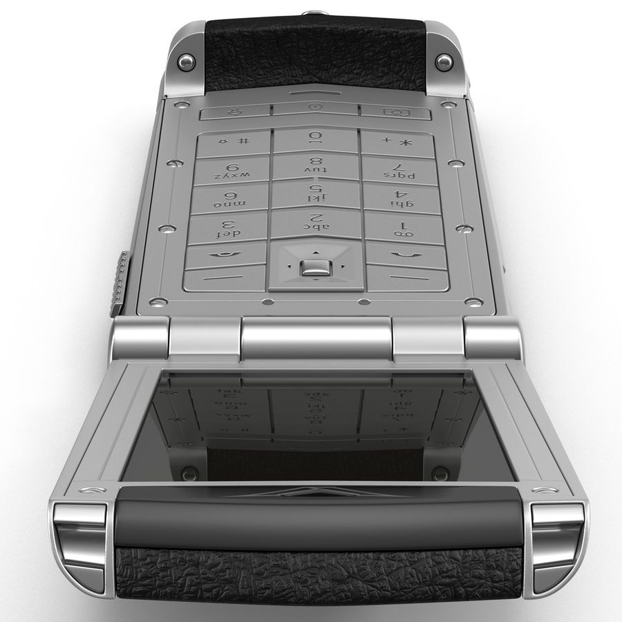 Vertu Constellation Ayxta royalty-free 3d model - Preview no. 8