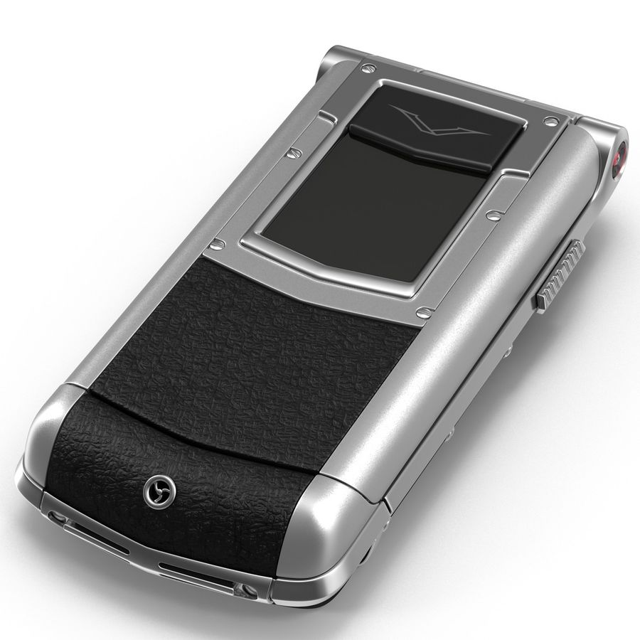 Vertu Constellation Ayxta royalty-free 3d model - Preview no. 12