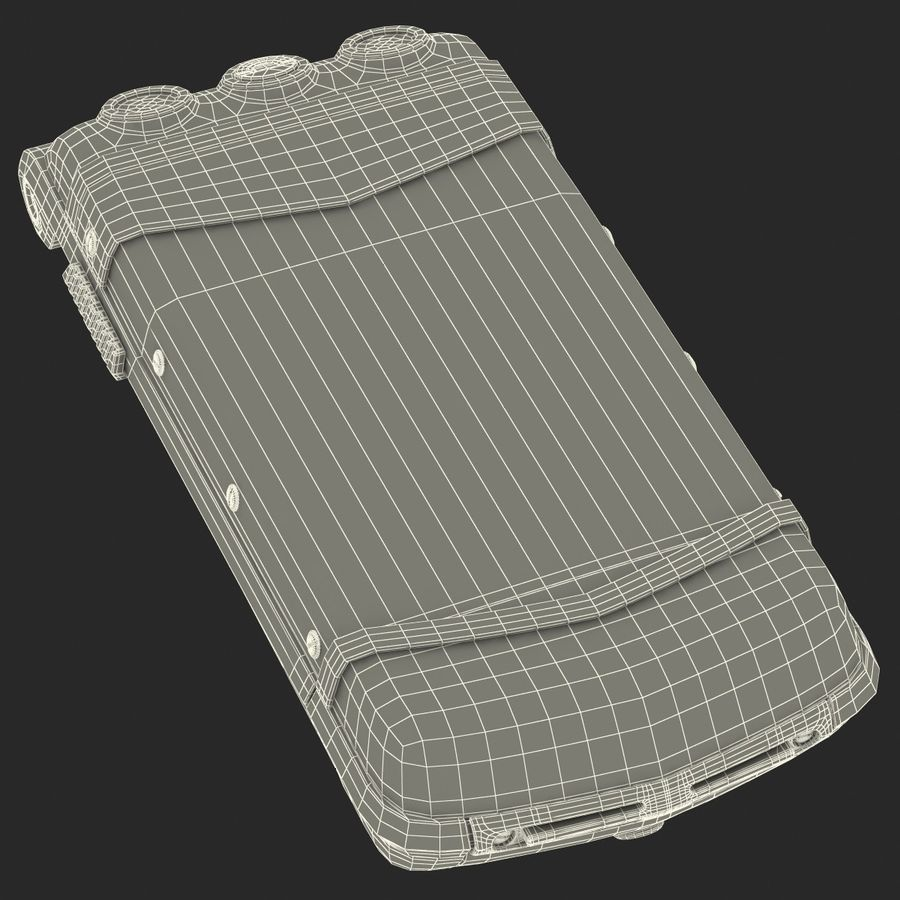 Vertu Constellation Ayxta royalty-free 3d model - Preview no. 35