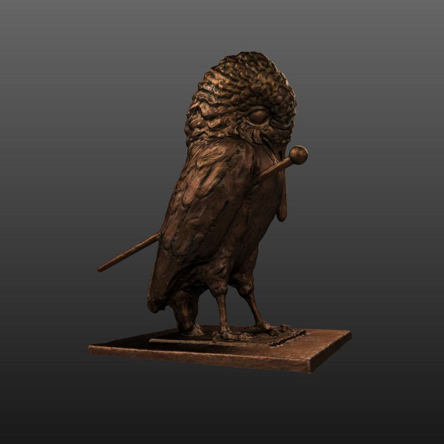 Raven royalty-free 3d model - Preview no. 2