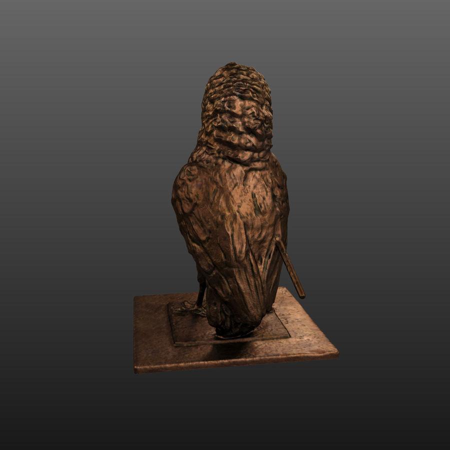 Raven royalty-free 3d model - Preview no. 5