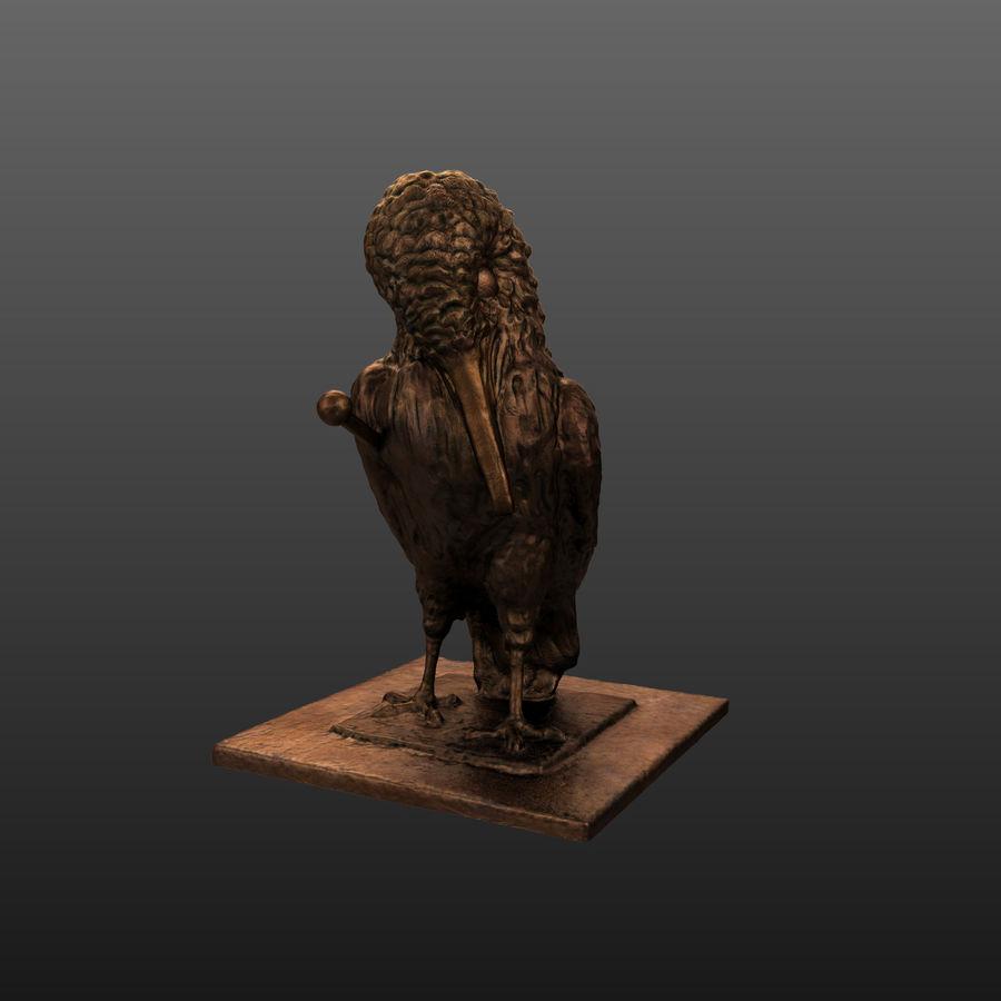 Raven royalty-free 3d model - Preview no. 4