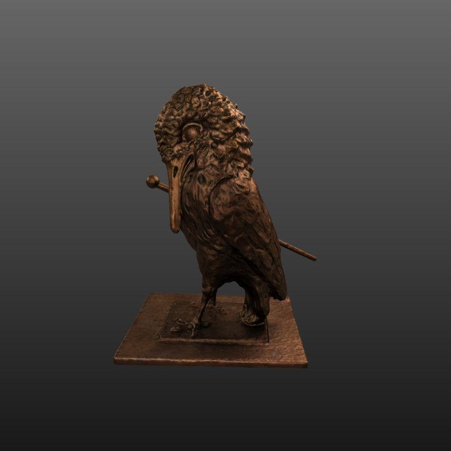 Raven royalty-free 3d model - Preview no. 3