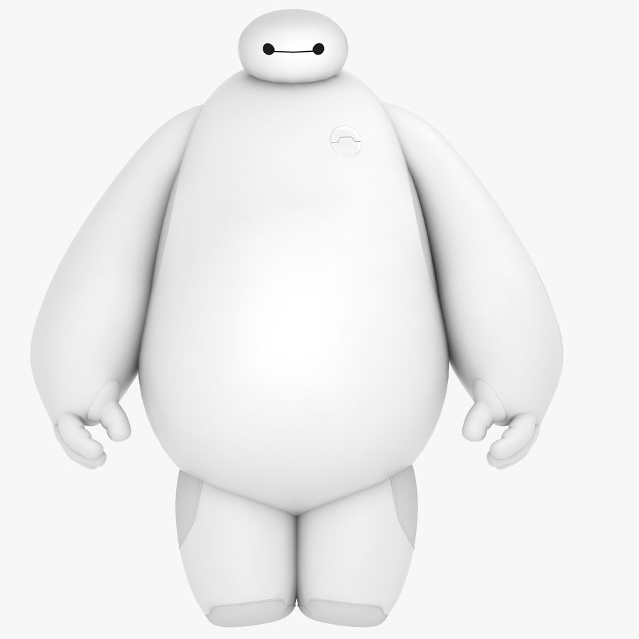 Baymax - Big Hero 6 royalty-free 3d model - Preview no. 36