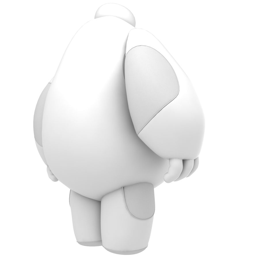 Baymax - Big Hero 6 royalty-free 3d model - Preview no. 34