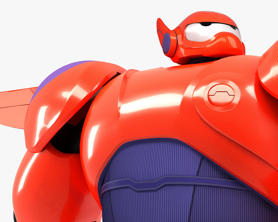 Baymax - Big Hero 6 royalty-free 3d model - Preview no. 1