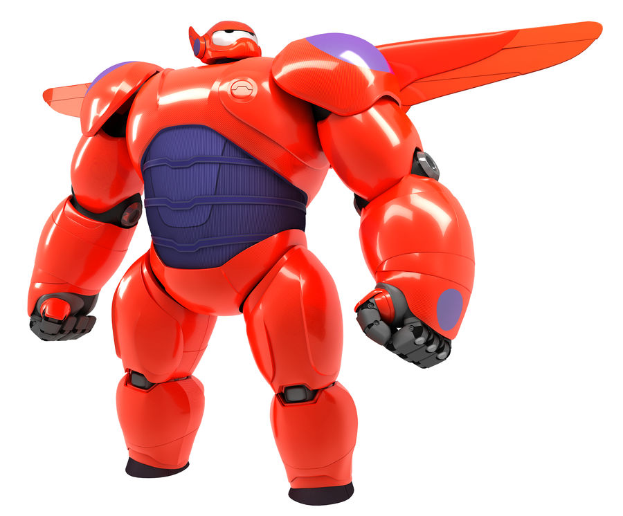 Baymax - Big Hero 6 royalty-free 3d model - Preview no. 2