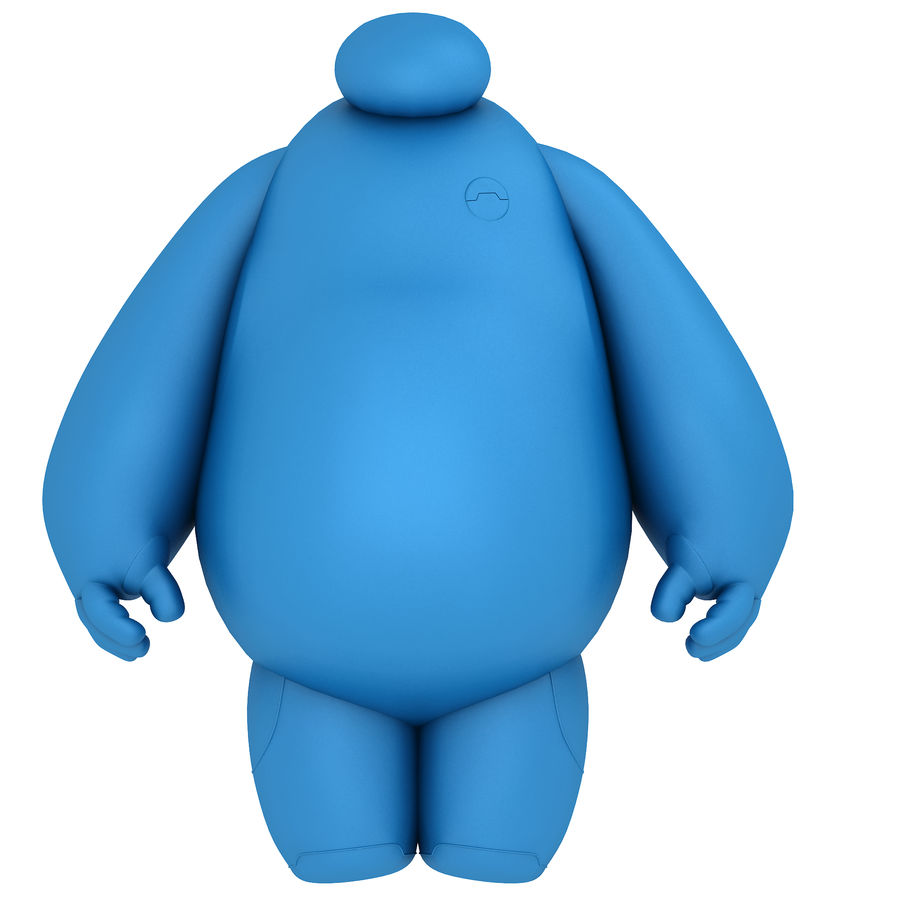 Baymax - Big Hero 6 royalty-free 3d model - Preview no. 28