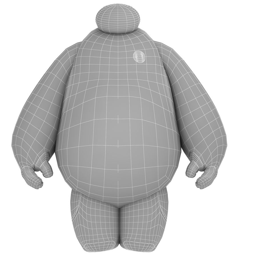 Baymax - Big Hero 6 royalty-free 3d model - Preview no. 30