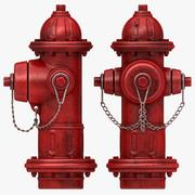 Fire Hydrant (stary) 3d model