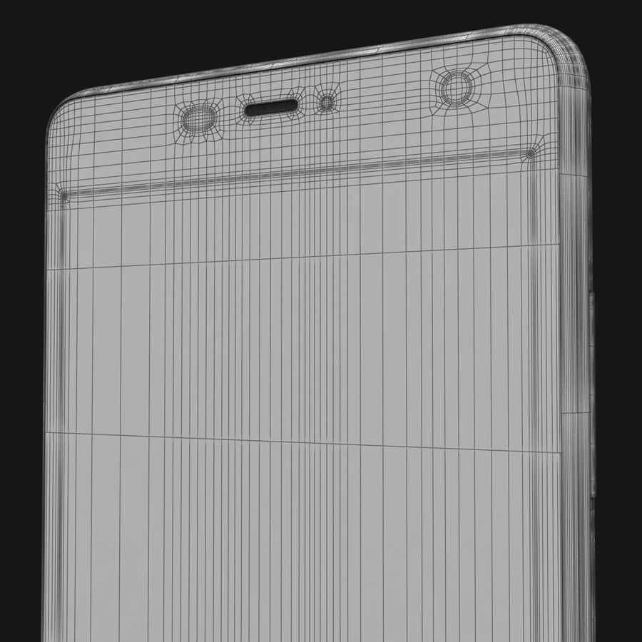 THL 5000 Smart Phone royalty-free 3d model - Preview no. 40