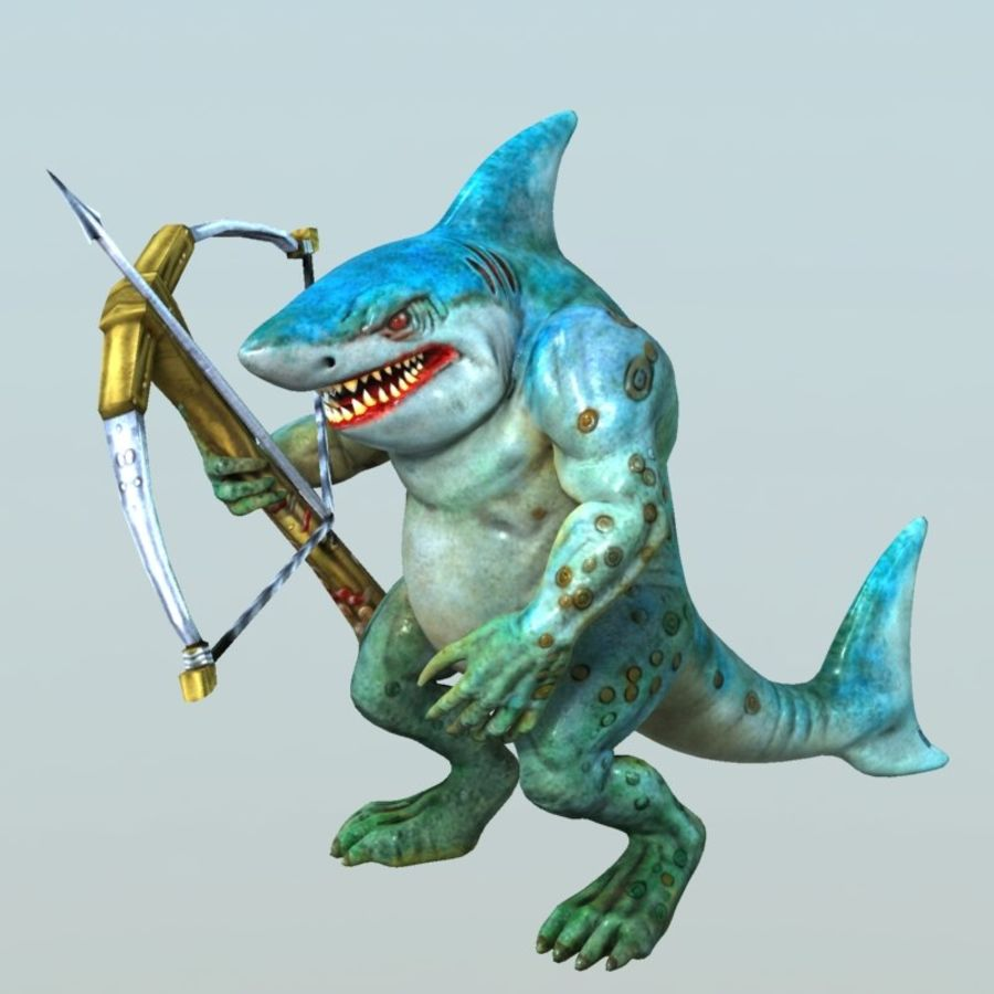 shark royalty-free 3d model - Preview no. 6