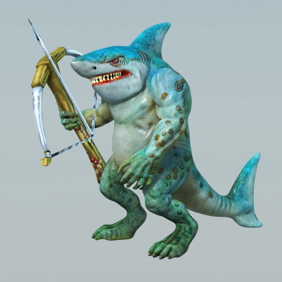 shark royalty-free 3d model - Preview no. 4