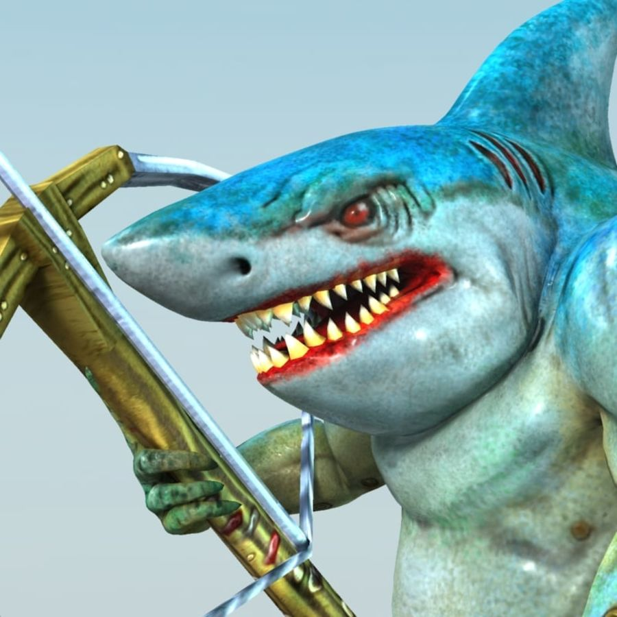 shark royalty-free 3d model - Preview no. 5