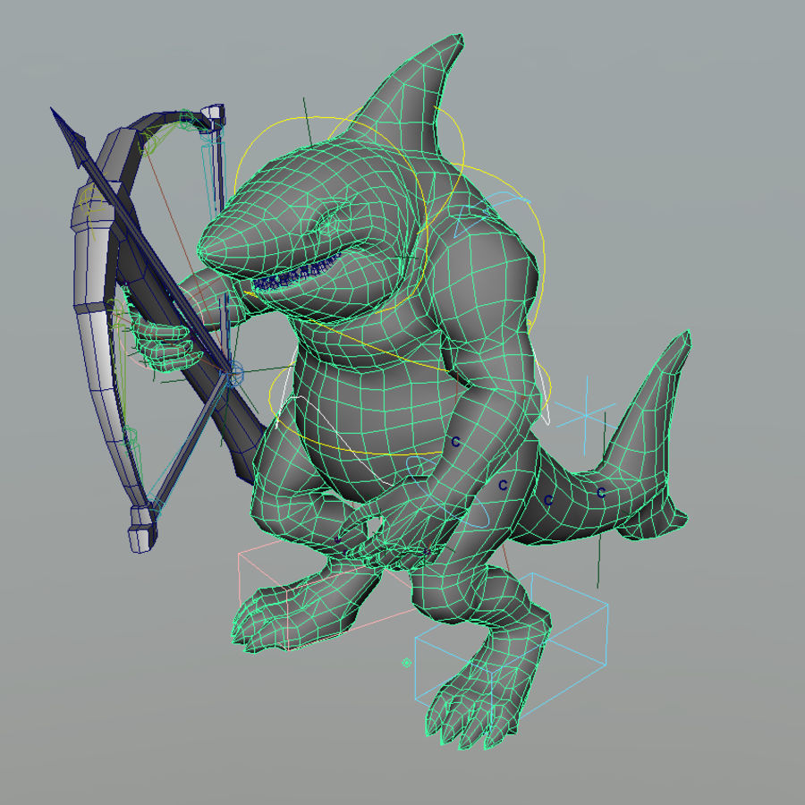 shark royalty-free 3d model - Preview no. 9