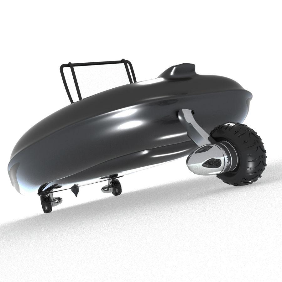 両生類のボート royalty-free 3d model - Preview no. 4