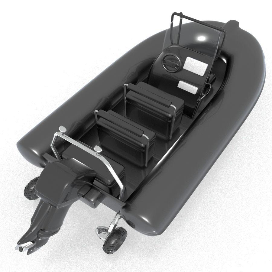 両生類のボート royalty-free 3d model - Preview no. 2