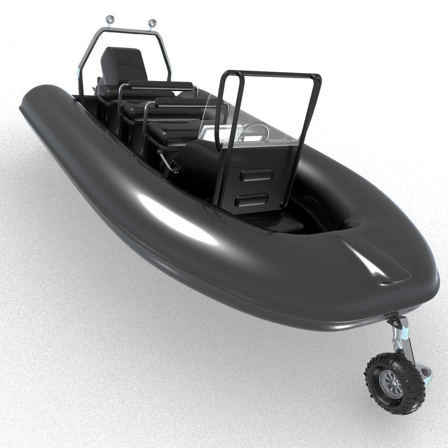 両生類のボート royalty-free 3d model - Preview no. 1